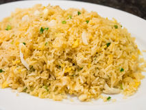Fried rice with crab Royalty Free Stock Image