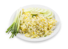 Fried rice with crab Royalty Free Stock Photo