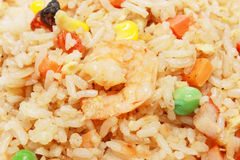 Fried Rice Detail Stock Photography