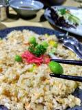 Fried Rice di verdure delizioso Immagini Stock Libere da Diritti