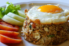 Fried rice with egg Stock Photography