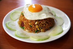 Fried rice with egg Royalty Free Stock Photos