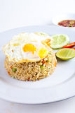Fried Rice with Fried Egg2 Stock Photography