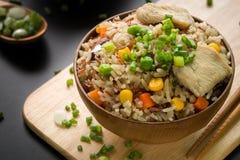 Fried Rice, Japanese Style / Fried Rice / Fried Rice, Japanese Style, Close-up Shot Royalty Free Stock Photo