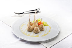 Fried appetizers Royalty Free Stock Images