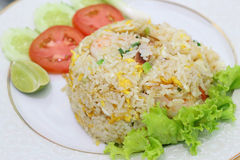 Fried rice, menu of local food in thailand Royalty Free Stock Photography