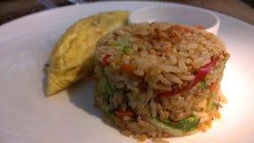 Fried rice or Nasi goreng. Royalty Free Stock Images