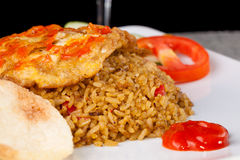 Fried Rice Nasi Goreng Indonesia Traditional Food Royalty Free Stock Photography