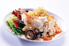 Fried Rice Noodles Royalty Free Stock Photography