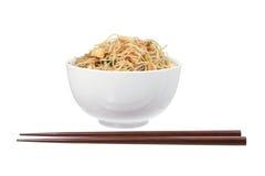 Fried Rice Noodles Arkivbild