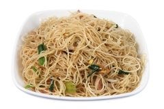 Fried Rice Noodles Royalty Free Stock Photos