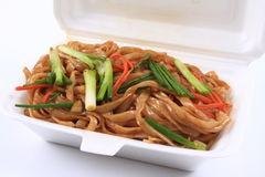 Fried rice noodles Royalty Free Stock Photo