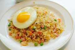Fried Rice Paradice. Fried rice is a popular component of Chinese cuisine and other forms of Asian cuisine. It is made from cold leftover rice fried with other Stock Image