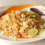 Fried rice plate Royalty Free Stock Photography