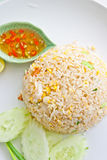 Fried rice with pork, Thai cuisine Stock Photography