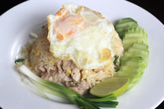 Fried rice with pork Royalty Free Stock Photography
