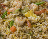 Fried rice with seafood Stock Image