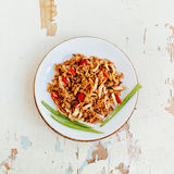 Fried rice with seafood. Asian cuisine. Stock Image