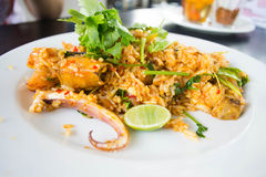 Fried rice spicy Royalty Free Stock Photos
