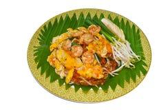 Fried Rice Sticks avec la crevette image libre de droits