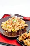 Fried Rice Teriyaki Stock Photos