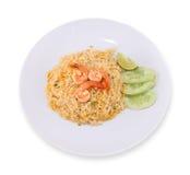 Fried rice thai food,Shrimp fried rice. Stock Photography