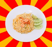 Fried rice thai food,Shrimp fried rice. Stock Images