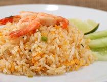 Fried rice thai food,Shrimp fried rice. Stock Photo