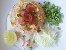 Fried rice thai food Stock Photography