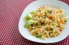 Fried rice, Thai foods Royalty Free Stock Photos