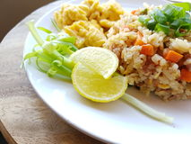 Fried Rice. Thai Style Royalty Free Stock Photos