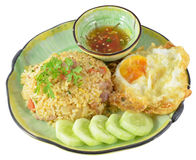 Fried rice thai style Stock Photos