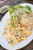 Fried rice,thai style. Fried rice with vegetable,thai style Royalty Free Stock Photos