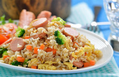 Fried rice thai style Stock Images