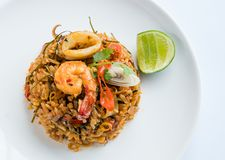 Fried Rice Tom Yum Stockfoto