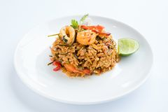 Fried Rice Tom Yum stock afbeeldingen