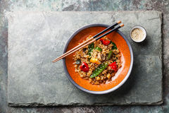 Fried Rice with vegetables Royalty Free Stock Photo