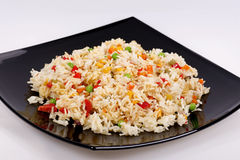 Fried rice with vegetables Stock Photography