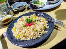 Fried Rice vegetal delicioso Imagem de Stock
