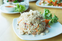 Fried rice vermicelli Stock Images