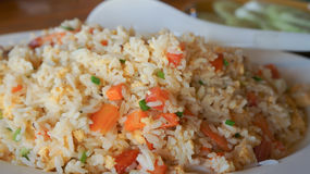 Fried Rice With Tomato Stock Image