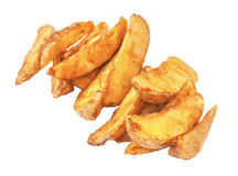 The fried rural potatoes Royalty Free Stock Image