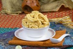 Gathiya Namkeen. Fried and salty food Gathiya Namkeen stock photos