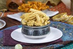 Gathiya Namkeen. Fried and salty food Gathiya Namkeen royalty free stock photo