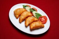 Fried Sambousek Royalty Free Stock Image