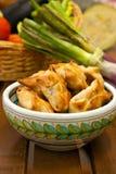 Fried samosas Stock Image