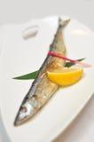 Fried sardines Stock Photo