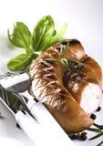 Fried sausage Royalty Free Stock Image