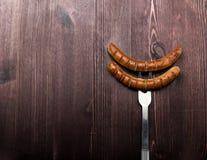 Fried sausage Royalty Free Stock Photo
