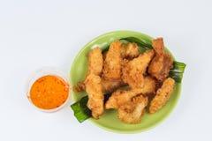 Fried sea food shim Stock Photos